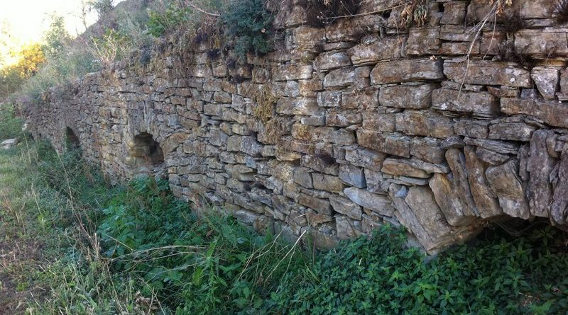 Quali sono le principali forme di degrado di un muretto a secco?