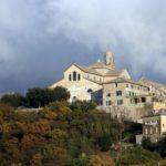 Il Santuario della Madonna del Monte nel quartiere genovese di San Fruttuoso
