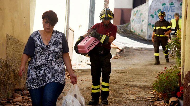 """Terremoto in centro Italia: monitoraggio dello stato di conservazione, protezione e recupero dei """"beni culturali"""""""