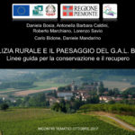Terminato il ciclo di incontri per la presentazione delle linee guida per la conservazione e il recupero dell'architettura rurale e il paesaggio del Gal Borba