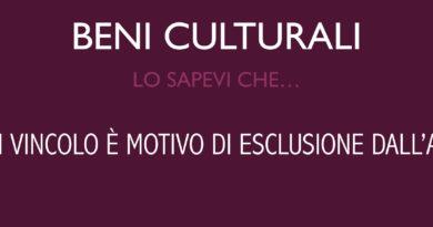 Beni culturali: l'attestazione di vincolo è motivo di esclusione dall'attivo ereditario