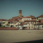 Il suggestivo paesaggio delle splendide colline a vigneto di Ricaldone