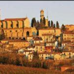 Sulle colline della vallata del torrente Grana il borgo Unesco di Vignale