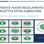 Regione Piemonte: il nuovo Regolamento per le strutture ricettive extra-alberghiere