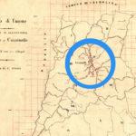 Cassinelle paese di crinale noto per la produzione del vino Dolcetto