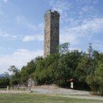 Nella Valle Bormida di Spigno il borgo con torre medievale di Merana
