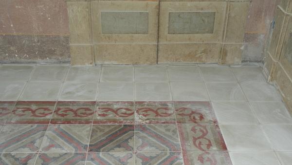 E 39 possibile conservare un vecchio pavimento in cotto o in cementine colorate restauro e - Crepe nelle piastrelle del pavimento ...