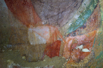 07. affresco tassello pulitura