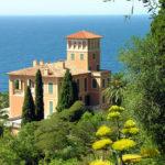 I giardini Hanbury situati sul promontorio della Mortola vicino a Ventimiglia: un paradiso della natura