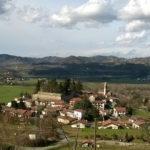 La storia del piccolo borgo di Melazzo nella Valle dell'Erro
