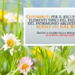 Contributi per il recupero degli elementi tipici del paesaggio e del patrimonio architettonico rurale del GAL Borba