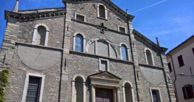 Ponzone: paese dell'Alto monferrato con vista sulla catena alpina e sul Monviso