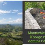Montechiaro d'Acqui il borgo rurale che domina l'Appennino