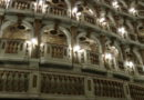 La suggestiva scenografia del teatro scientifico Bibiena a Mantova