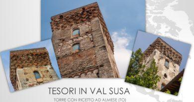 Tesori in Val Susa: la torre con ricetto nel Comune di Almese