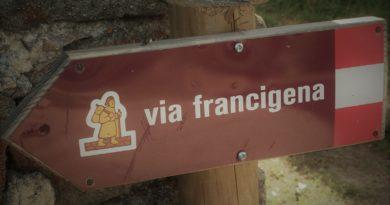 La storica Via Francigena meta di collegamento per pellegrini e crociati