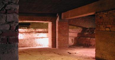 La piscina romana della zona Bagni di Acqui Terme