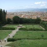 Alle spalle di Palazzo Pitti si estende il magnifico giardino di Boboli