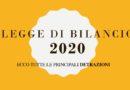 Legge di Bilancio 2020: ecco tutte le principali detrazioni