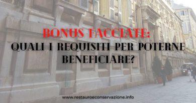 Bonus facciate: novità ed aggiornamenti per poterne beneficiare