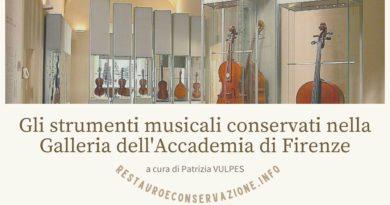 Gli strumenti musicali conservati nella Galleria dell'Accademia di Firenze